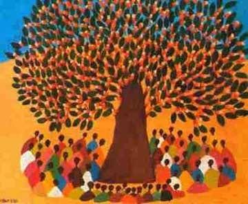 Sous le baobab